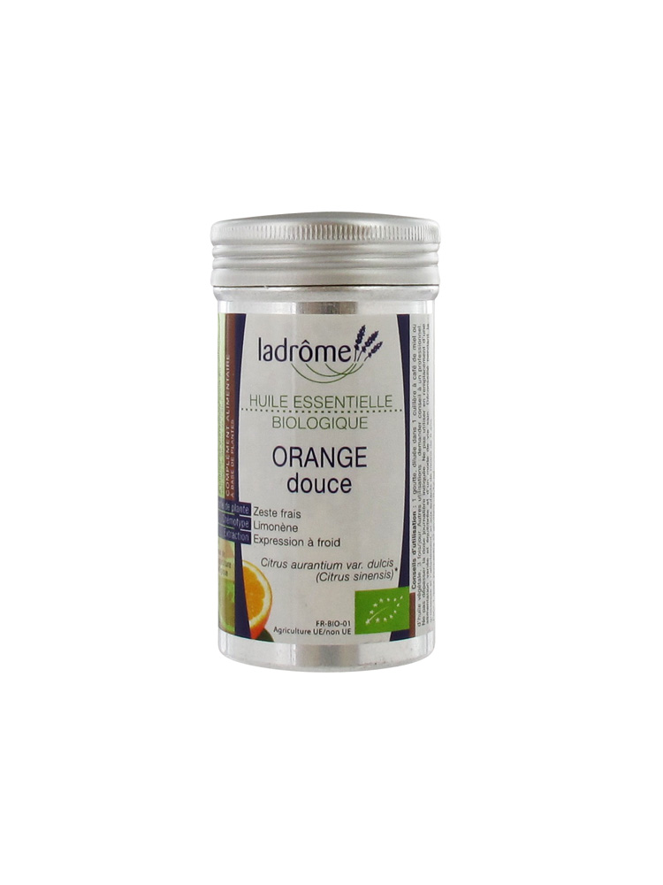 ladr me huile essentielle biologique orange douce 10 ml. Black Bedroom Furniture Sets. Home Design Ideas