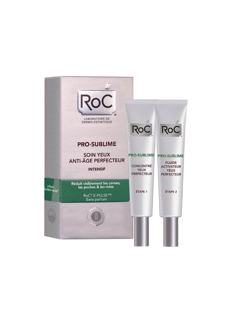 RoC Pro-Sublime Anti-Aging Eye Perfecting System Intensive 2 X 10 ml sara happ The Lip Scrub, Peppermint, 1 oz. (Brown Sugar)