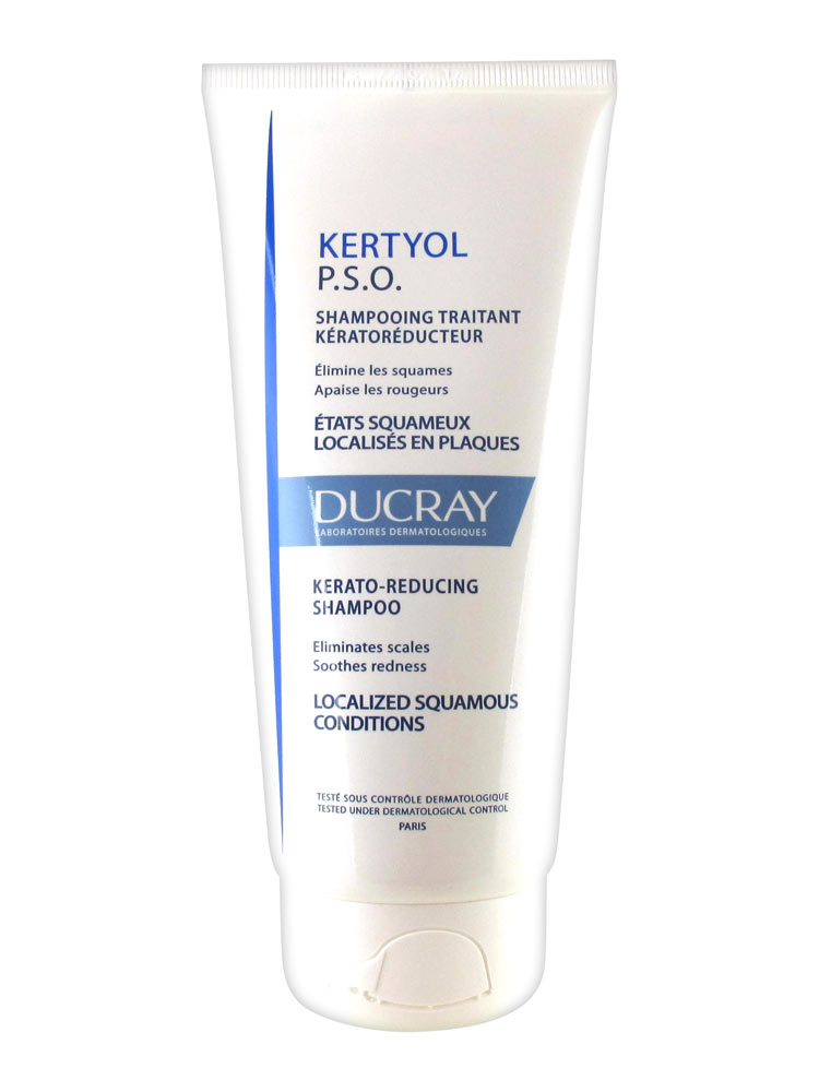 ducray kertyol pso kerato reducing treatment shampoo 200ml. Black Bedroom Furniture Sets. Home Design Ideas
