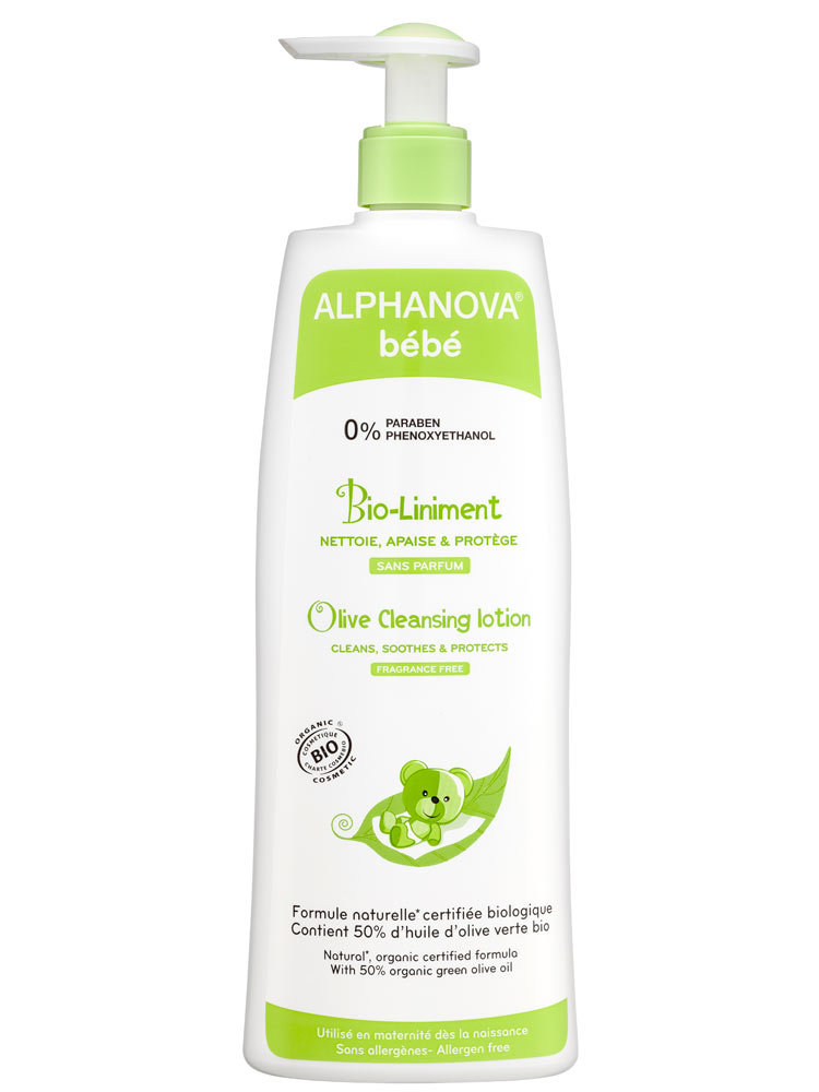 Alphanova Baby Olive Cleansing Lotion 500ml