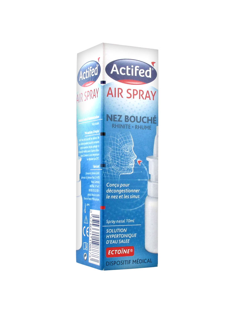 Actifed Air Spray Инструкция