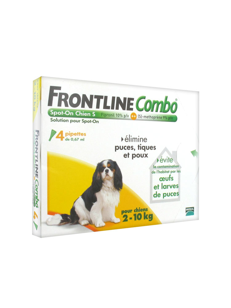 frontline combo hund s 2 10 kg 4 pipetten. Black Bedroom Furniture Sets. Home Design Ideas