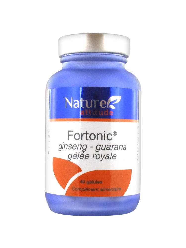 nature attitude fortonic ginseng guarana gel e royale 40 g lules. Black Bedroom Furniture Sets. Home Design Ideas