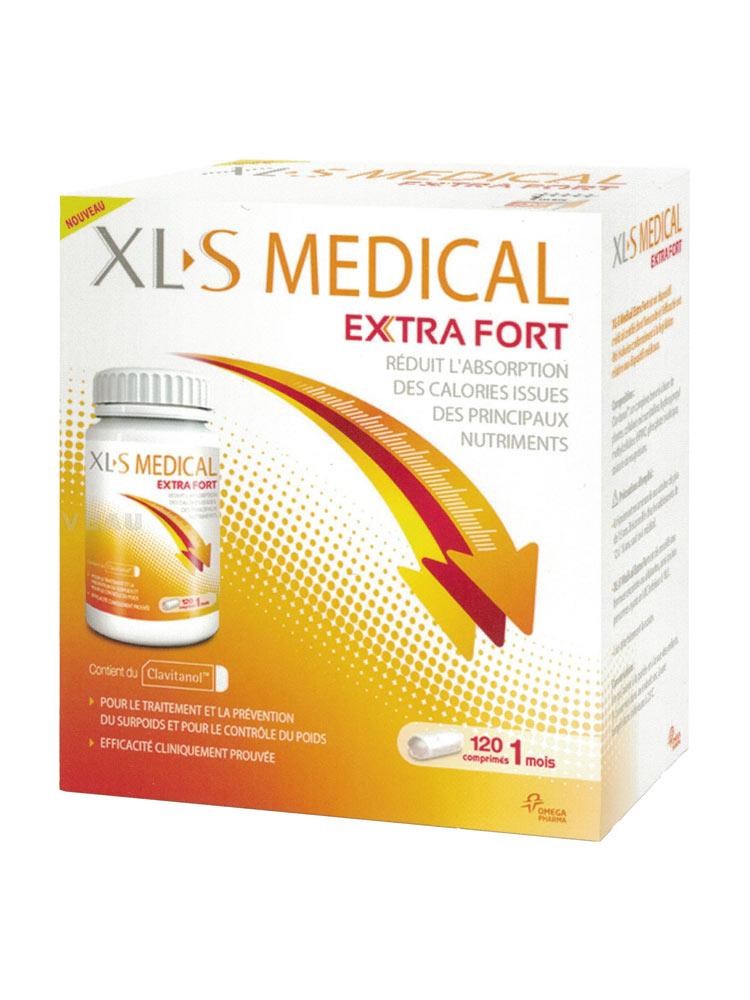 Xls medical extra fort 120 comprim s achat prix bas ici - Xls medical capteur de graisse pas cher ...