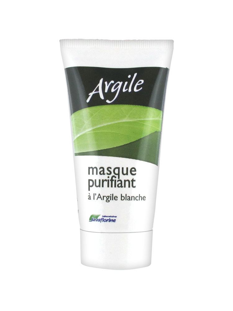 juvaflorine masque purifiant visage l 39 argile blanche 50 ml. Black Bedroom Furniture Sets. Home Design Ideas