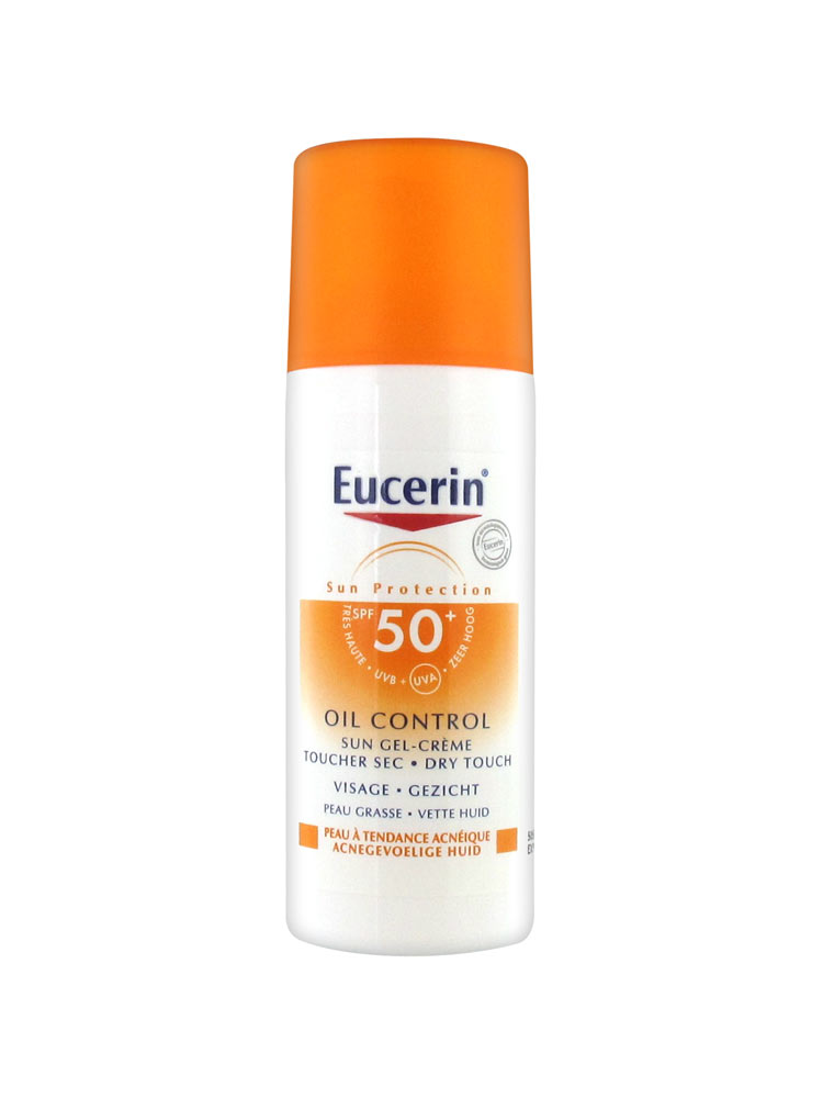 eucerin sun protection oil control sun gel cream spf 50 50ml. Black Bedroom Furniture Sets. Home Design Ideas