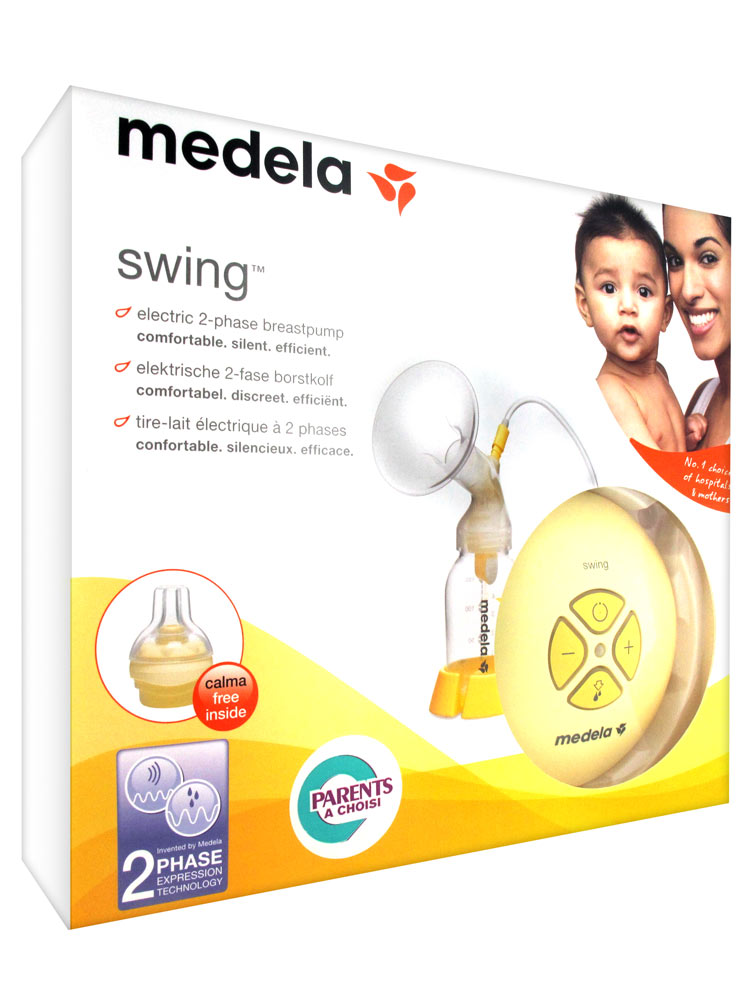 Medela Swing Electric 2-Phase Breast Pump-7780