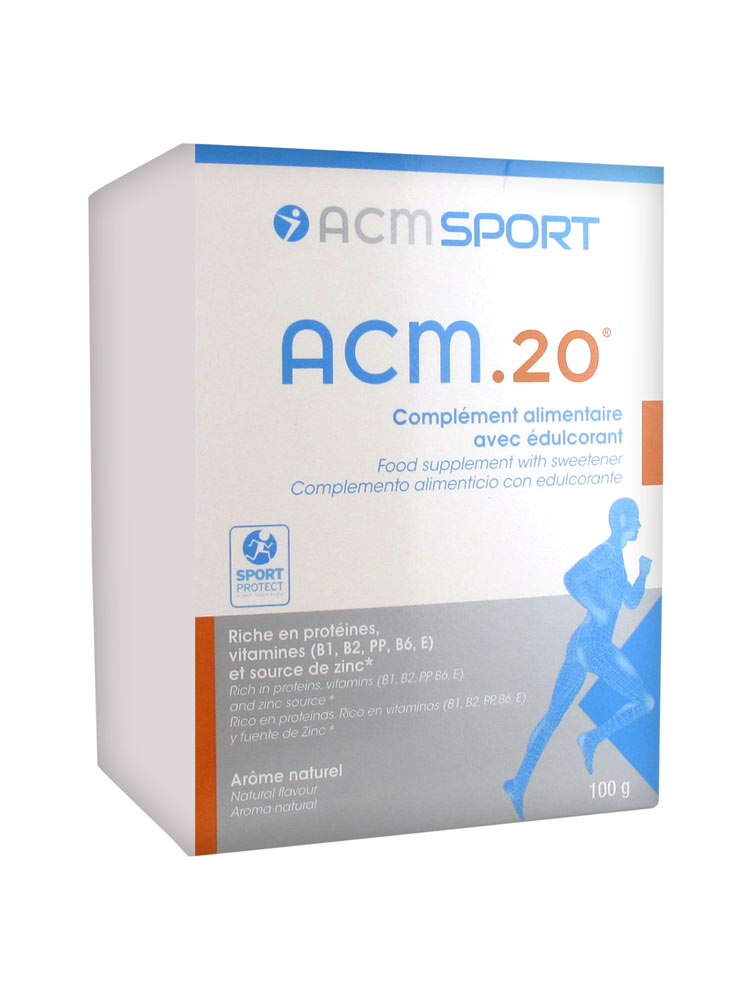 Populaire ACM 20 : Boite de 10 sachets | Achat à Prix Bas ICI SM53