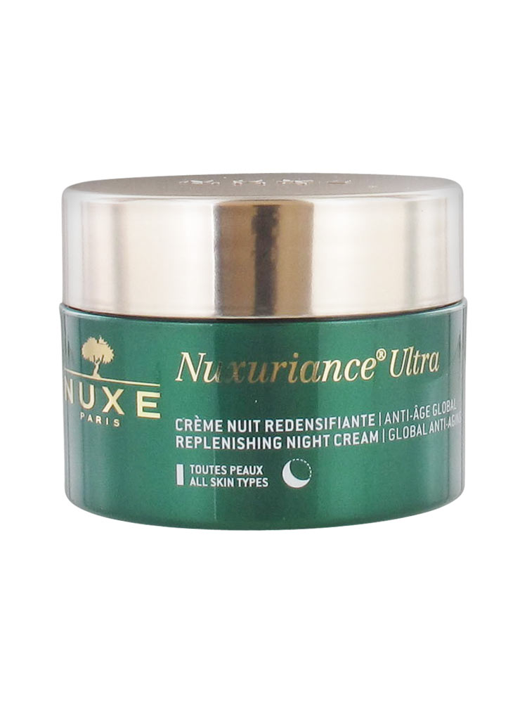 nuxe nuxuriance ultra cr me nuit redensifiante anti ge global 50 ml. Black Bedroom Furniture Sets. Home Design Ideas