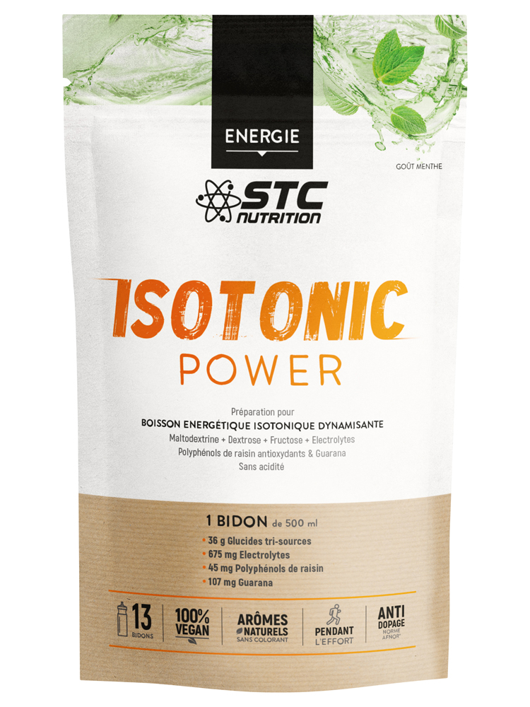 STC Nutrition Isotonic Power Energy Drink 525g - Flavour: Mint