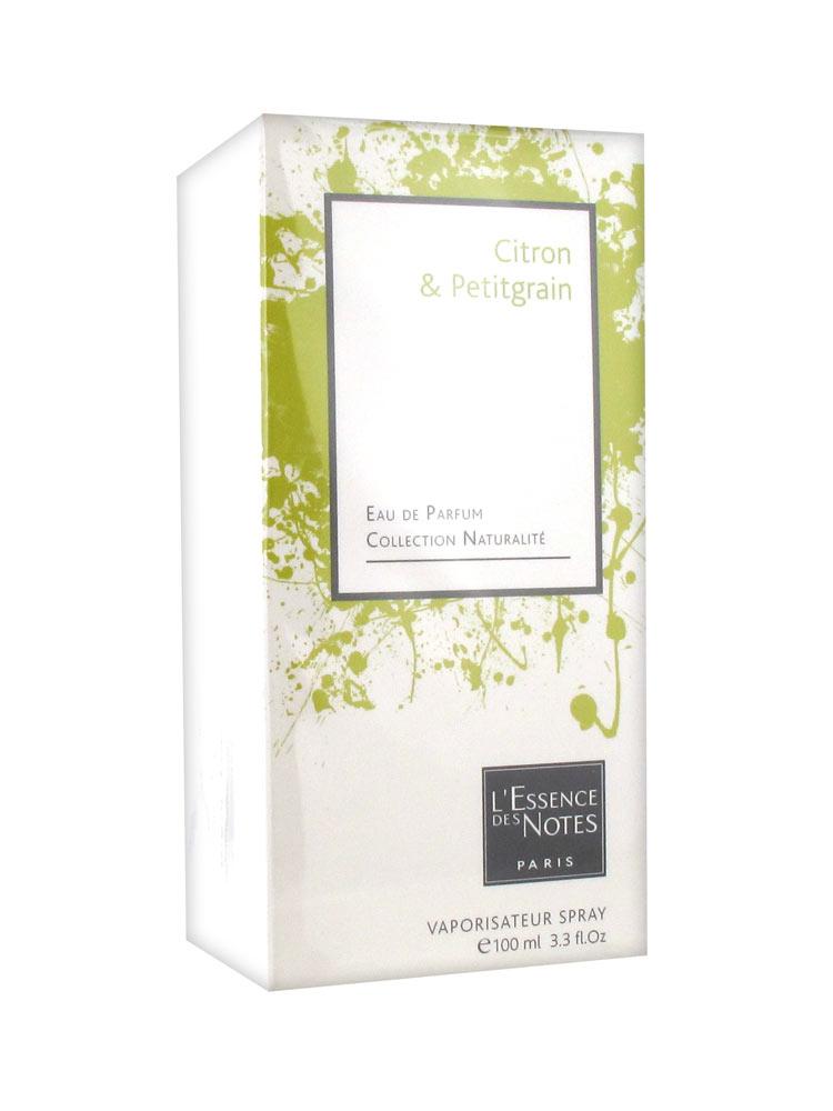 l 39 essence des notes eau de parfum citron petitgrain 100 ml prix bas ici. Black Bedroom Furniture Sets. Home Design Ideas