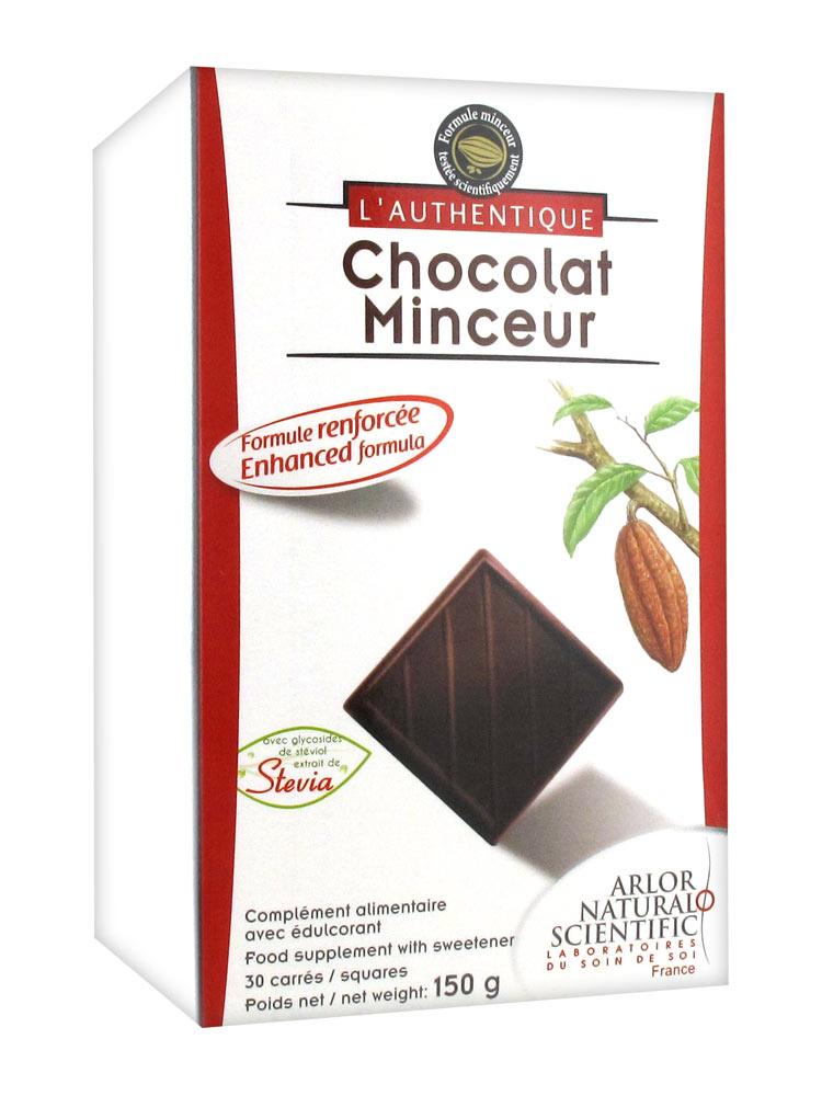 chocolat noir minceur