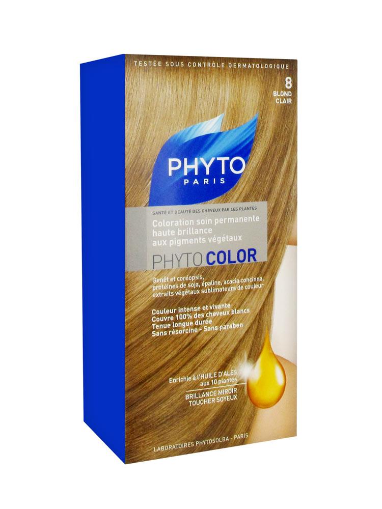 phyto color coloration soin permanente haute brillance aux pigments vgtaux - Coloration Color Et Soin