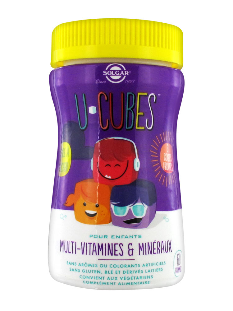 Solgar U-Cubes Children 60 Gummies   Buy at Low Price Here 58623dbd0ad9