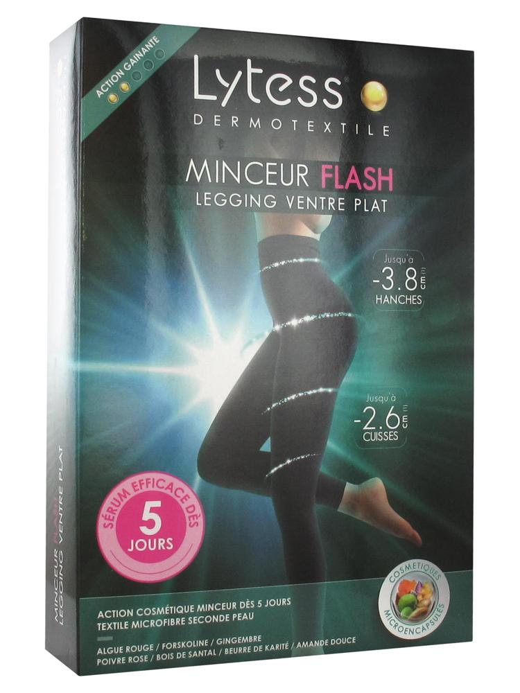 Lytess Dermotextile Flash Slimming Legging Flat Belly Black