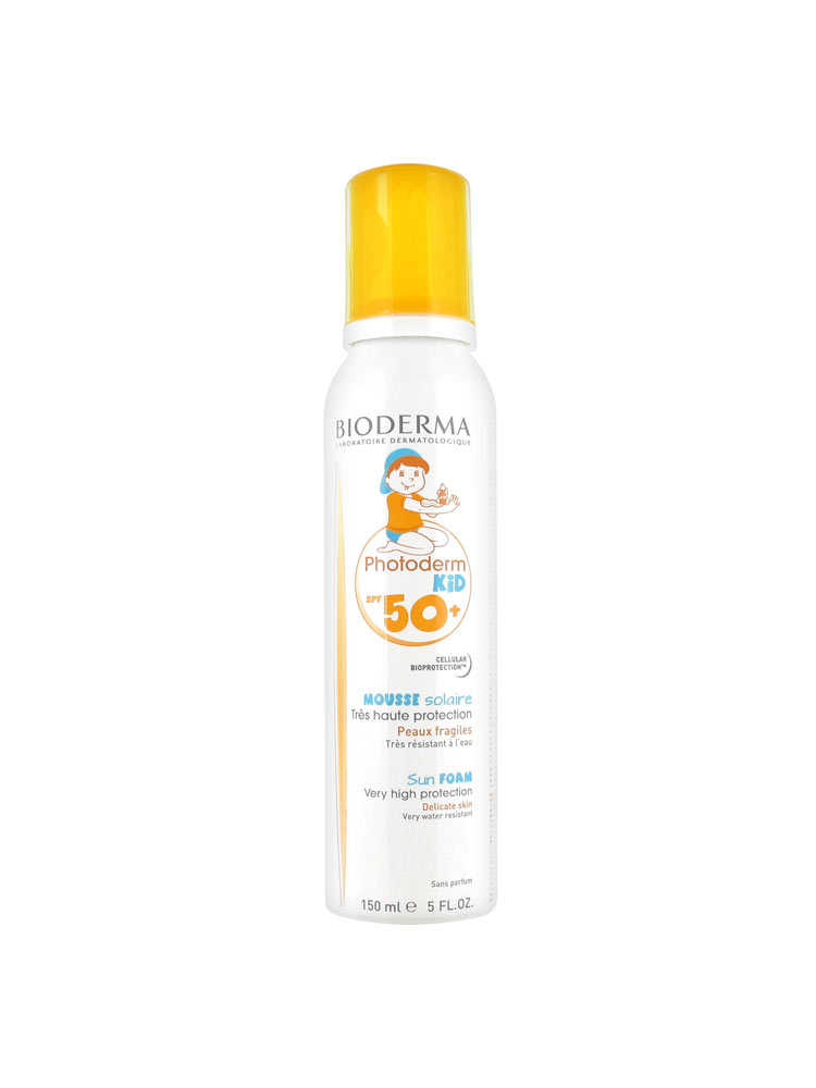 bioderma photoderm kid mousse solaire spf 50 150 ml. Black Bedroom Furniture Sets. Home Design Ideas