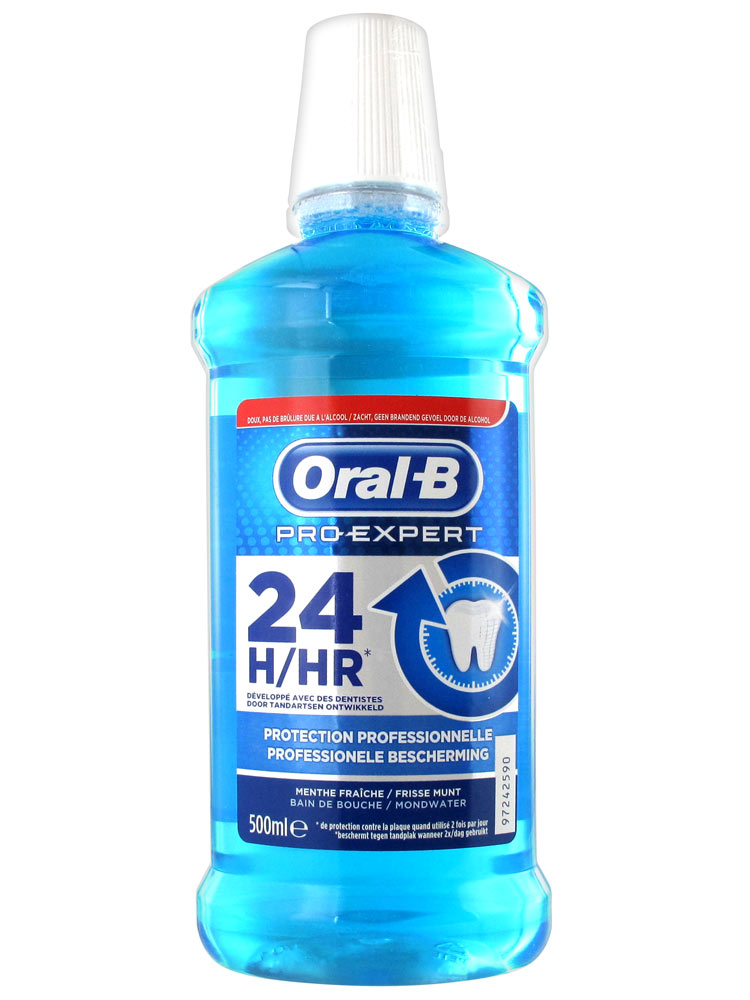oral b pro expert professional protection mouth wash 500ml. Black Bedroom Furniture Sets. Home Design Ideas