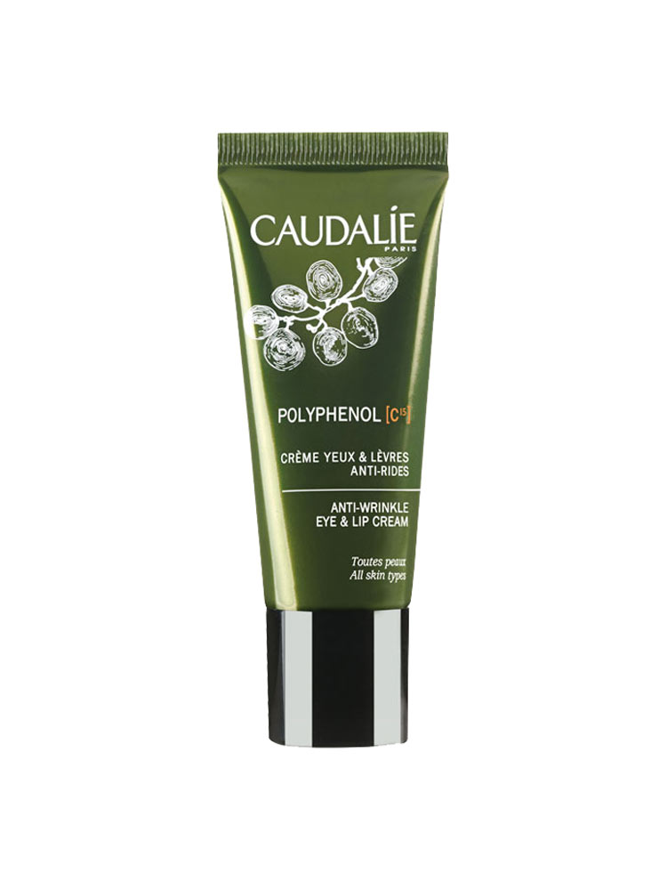caudalie polyphenol c15 cr me yeux l vres anti rides 15 ml. Black Bedroom Furniture Sets. Home Design Ideas