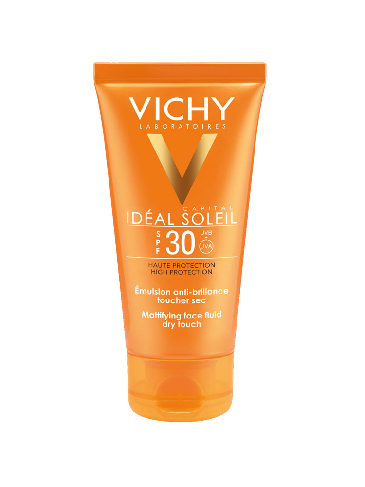 vichy capital id al soleil mattifying face fluid dry touch. Black Bedroom Furniture Sets. Home Design Ideas