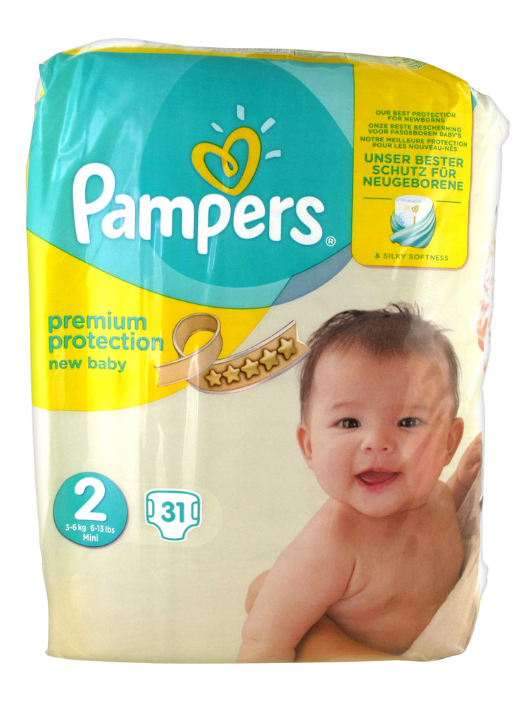 pampers new baby 31 couches taille 2 3 6 kg acheter. Black Bedroom Furniture Sets. Home Design Ideas