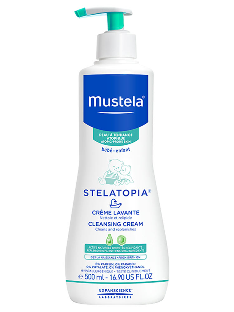 mustela dermo cleansing how to use