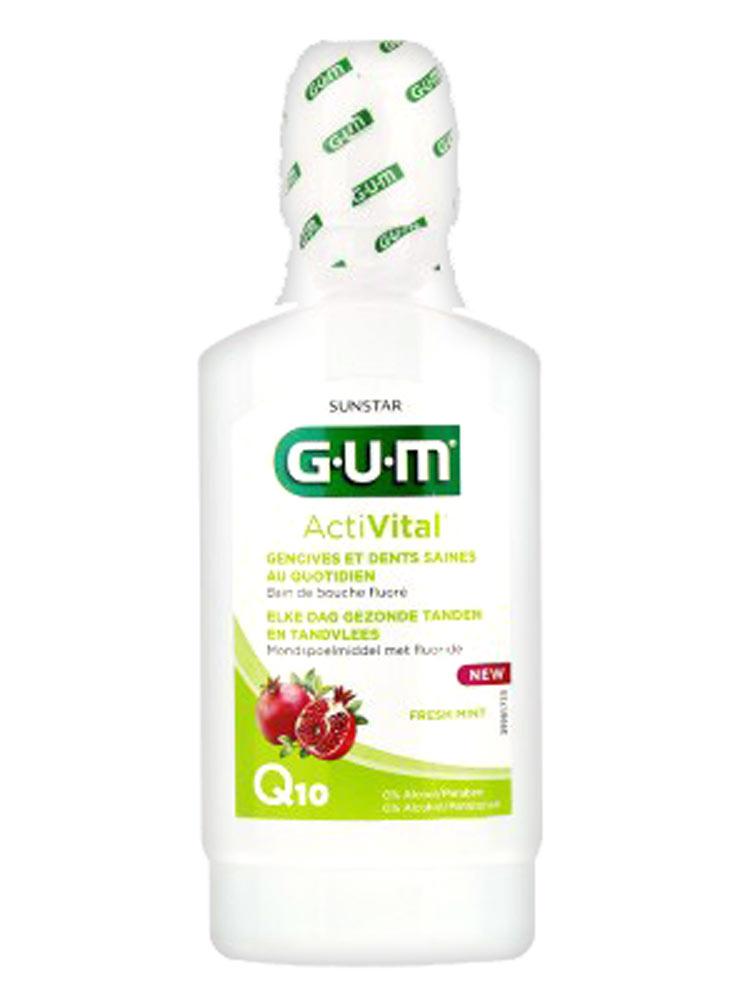 Mouthwash gum