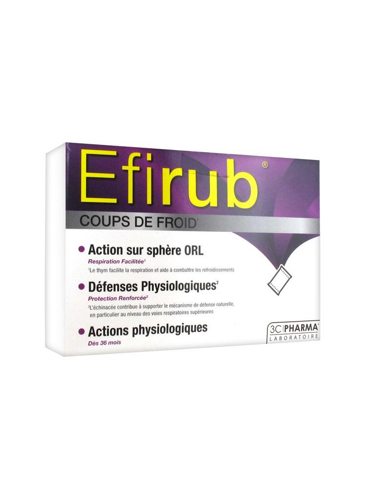 d132c8ee0 3C Pharma Efirub resfriados de 16 sobres con sabor tropical