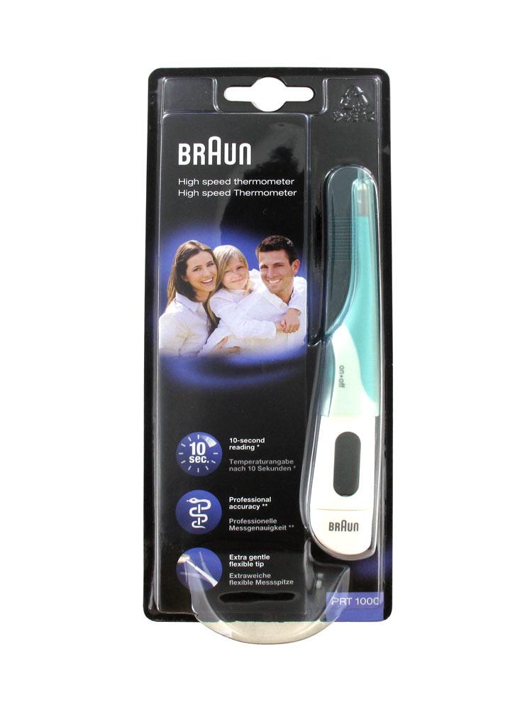 Braun High Speed Thermometer PRT 1000  fdf57f8944298