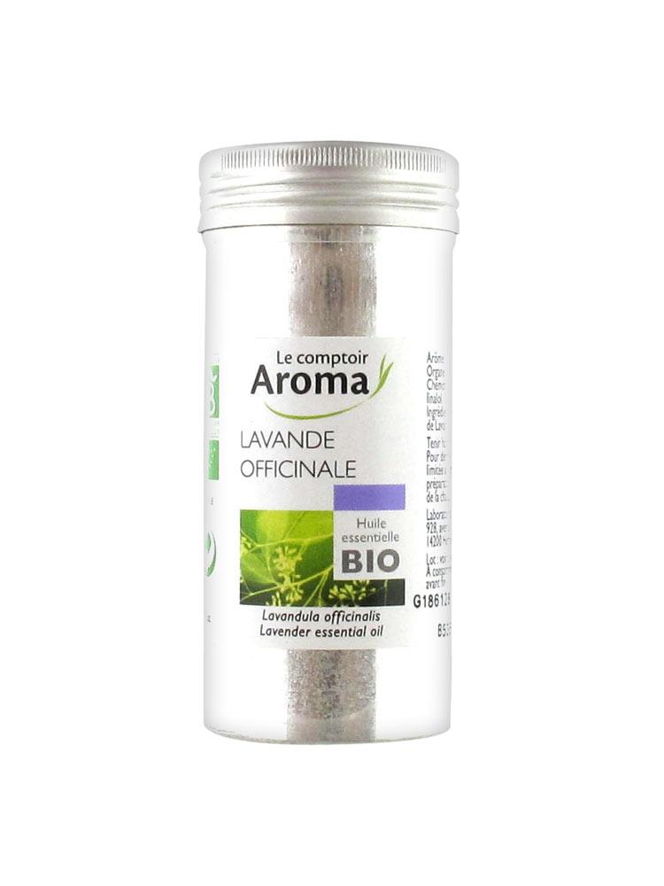 le comptoir aroma huile essentielle bio lavande officinale 10 ml