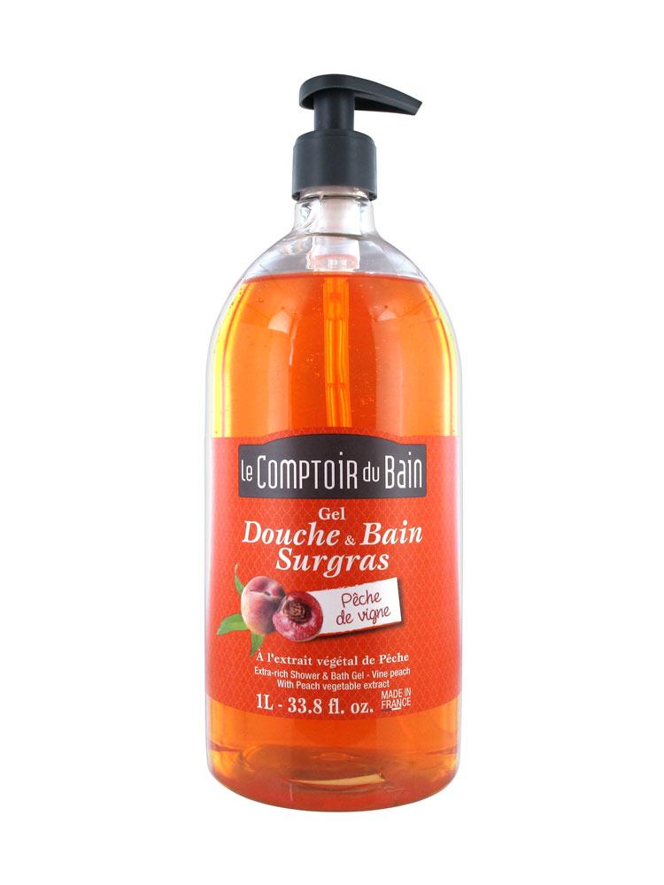Le comptoir du bain extra rich shower bath gel with vine for Le comptoir du meuble bruxelles