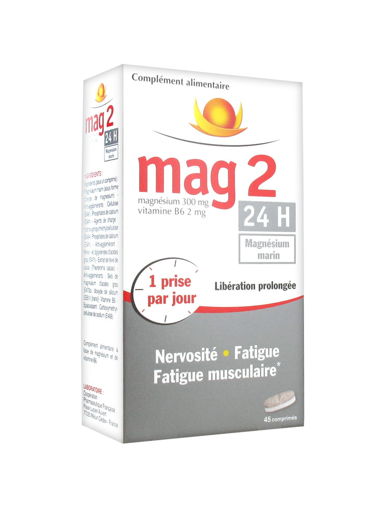 mag 2 magnesium prix