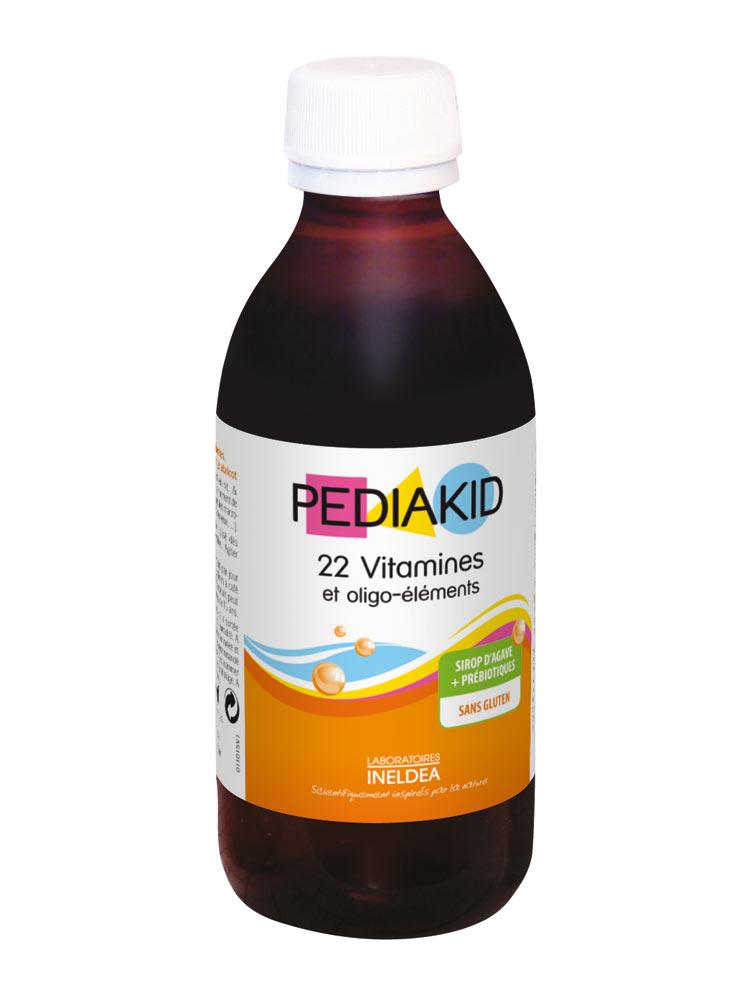 Pediakid 22 Vitamins   Trace Elements Family Size 250ml 8913cae0100