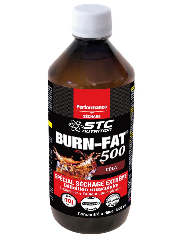 STC Nutrition Burn-Fat 500 500 ml - Acheter à prix bas ici