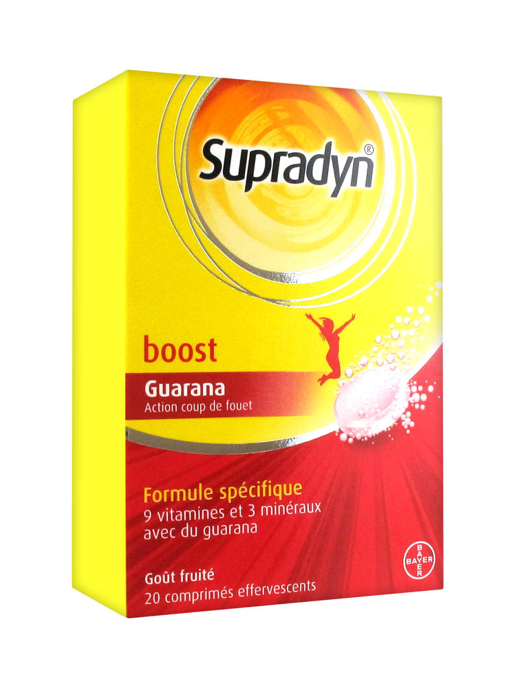 Supradyn Boost Effervescent 20 Tablets