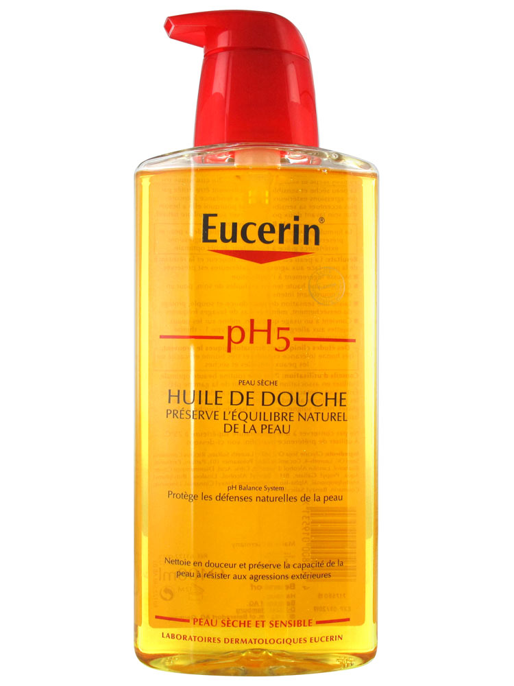 eucerin skin protection shower oil