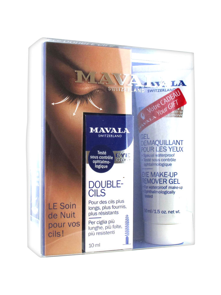 e2c8b721169 Mavala Double-Lash 10ml + Mavala Eye Make-up Remover Gel 50ml Free