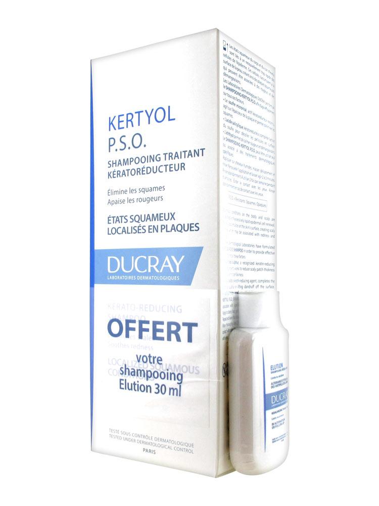 ducray kertyol p s o kerato reducing treatment shampoo 200ml free elution shampoo 30ml. Black Bedroom Furniture Sets. Home Design Ideas