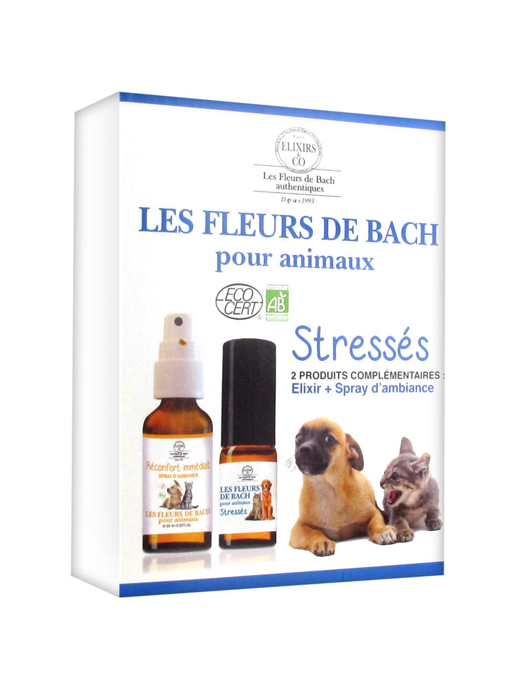 Elixirs Co Bach Flowers Kit For Stressed Pets