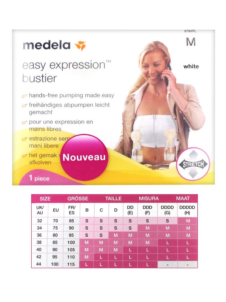 1e617dc628f20 Medela Easy Expression Strapless Bra Size M