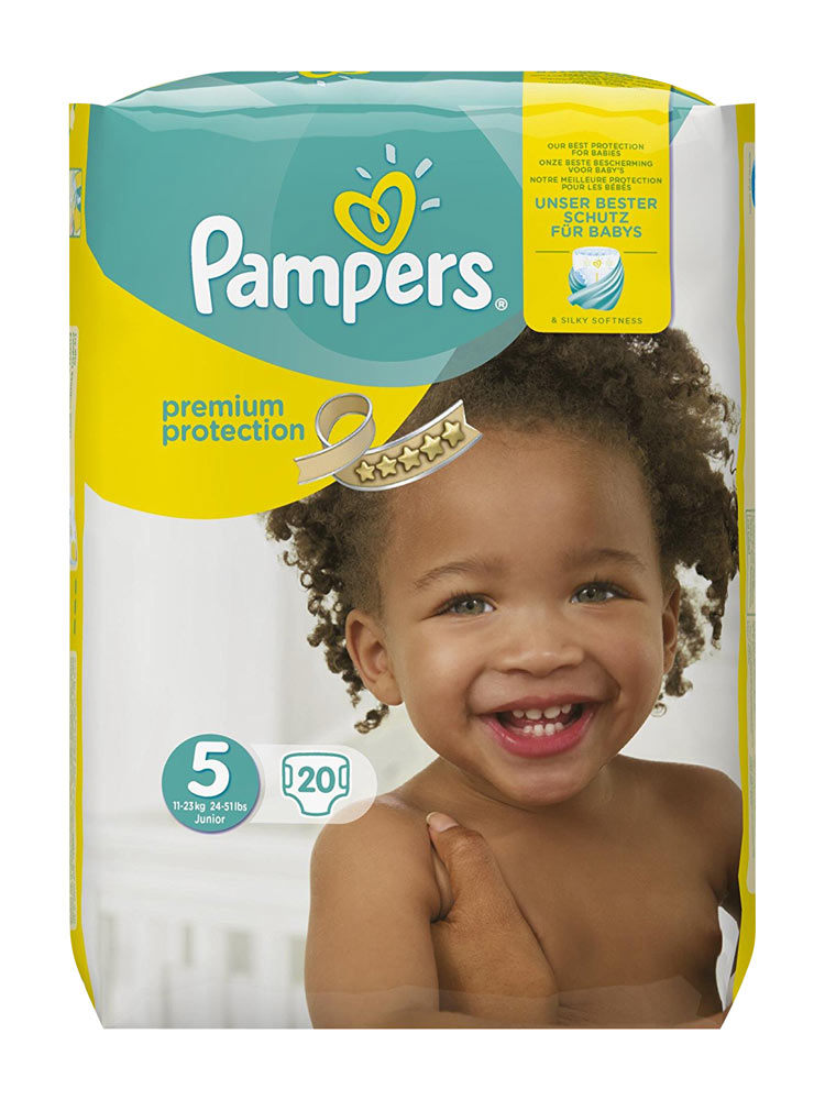 Pampers Premium Protection 20 Couches Taille 5 11 23 Kg