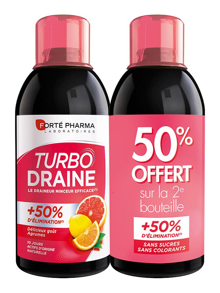 Forté Pharma TurboDraine Minceur Lot de 2 x 500 ml