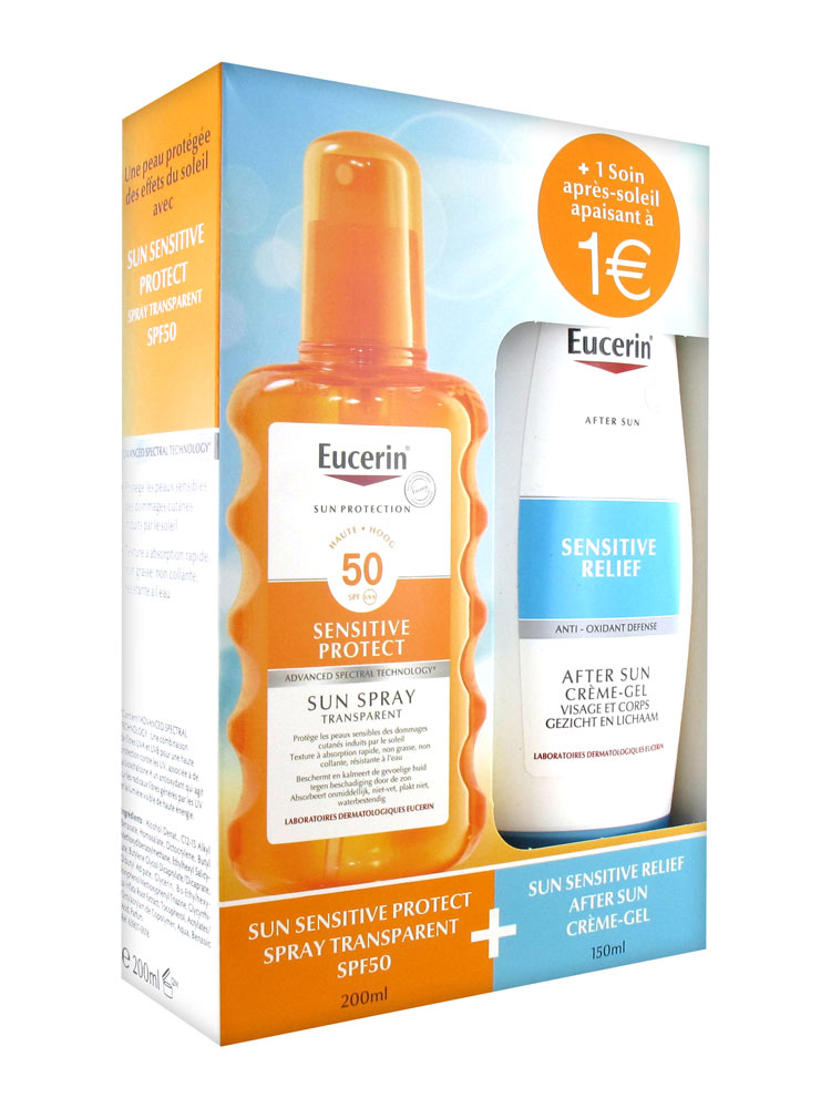 eucerin sun spray