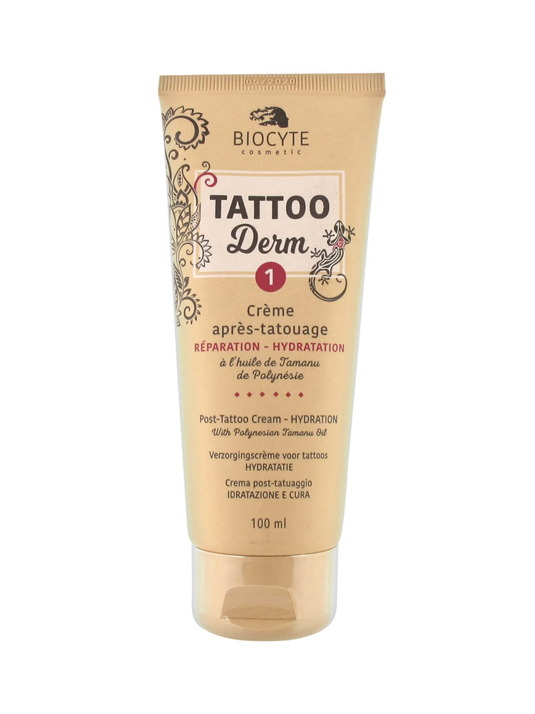 Biocyte Crema Para Después De Tatuajes Tattoo Derm 1 100 Ml