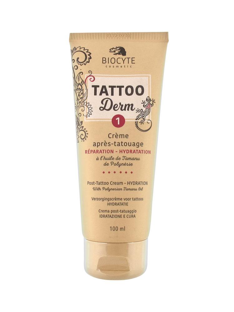 Biocyte tattoo derm 1 post tattoo cream 100ml for Best post tattoo moisturizer
