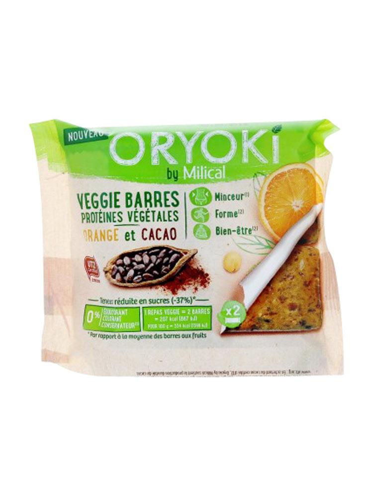 Oryoki by Milical Veggie Barres 2 Barres