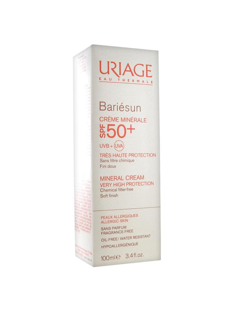 86480d0d289788 Uriage Bariésun Crème Minérale SPF 50+ 100 ml - Acheter à prix bas ici