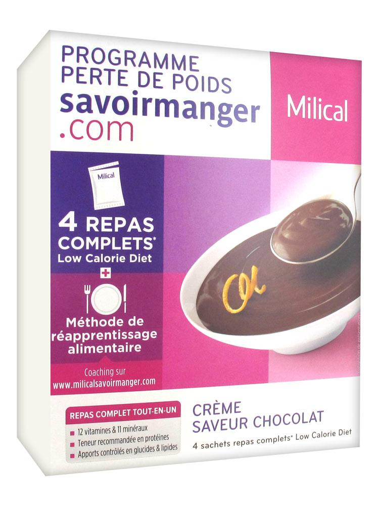 Milical Weight Loss Program Cream 4 Sachets