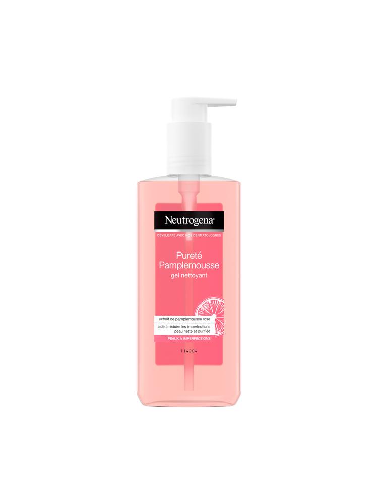 neutrogena visibly clear pink grapefruit cleansing gel 200ml. Black Bedroom Furniture Sets. Home Design Ideas