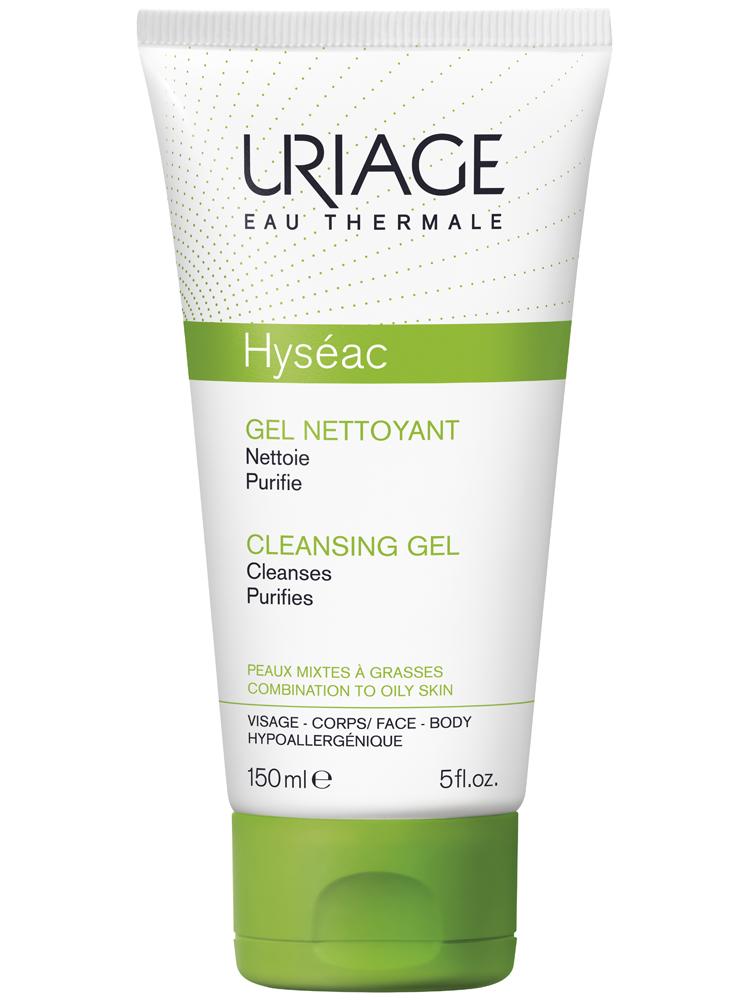Sữa Rửa Mặt Uriage Hyséac Cleansing Gel Cho Da Dầu Mụn, 150ml, MUA 4 TẶNG 1