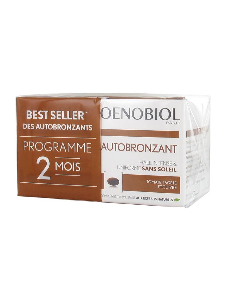 2 Autobronzant X Capsules De 30 Lot Oenobiol 6IgyfbvmY7